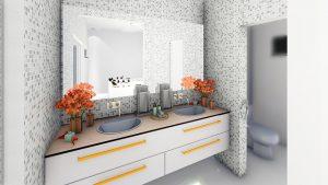 białe meble łazienkowe